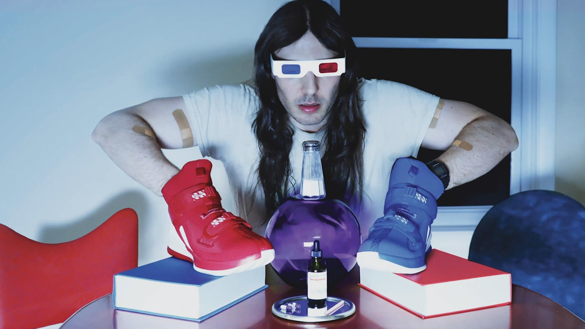 """ANDREW W.K.'s path of partying takes a sharp left-hand turn with """"Babalon"""""""